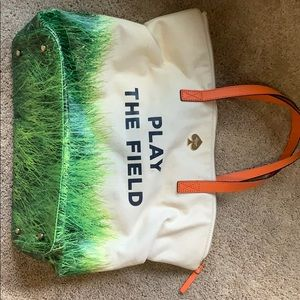 Kate spade play the field tote LIMITED EDITION